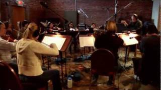 "Concert Rock Violinist Aaron Meyer records a new CD, ""Two Sides To This Story"" with full orchestra"