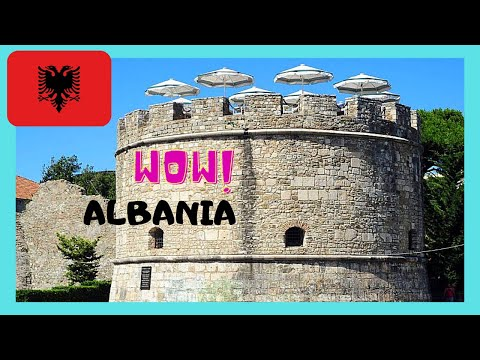 ALBANIA, the historic VENETIAN TOWER of Durrës (Δυρράχιο, Durazzo)