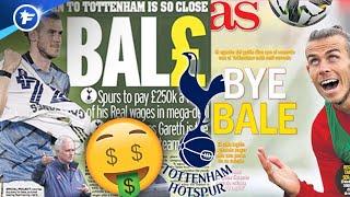 Les chiffres conséquents de l'opération Gareth Bale à Tottenham | Revue de presse