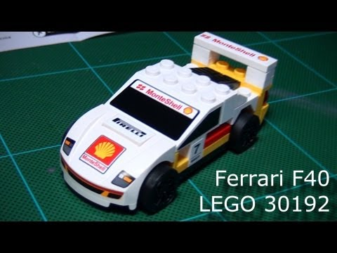 Shell V-Power - LEGO® model Ferrari Collection Ferrari F40 Set 30192 ...