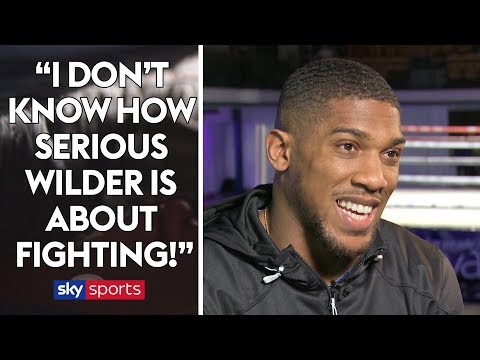 UNCUT: Anthony Joshua on Wilder negotiations, Tyson Fury's return & prediction for Haye/Bellew