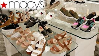 MACYS SHOES SHOP WITH ME ALDO THALIA STEVE MADDEN WALK THROUGH JULY 2018