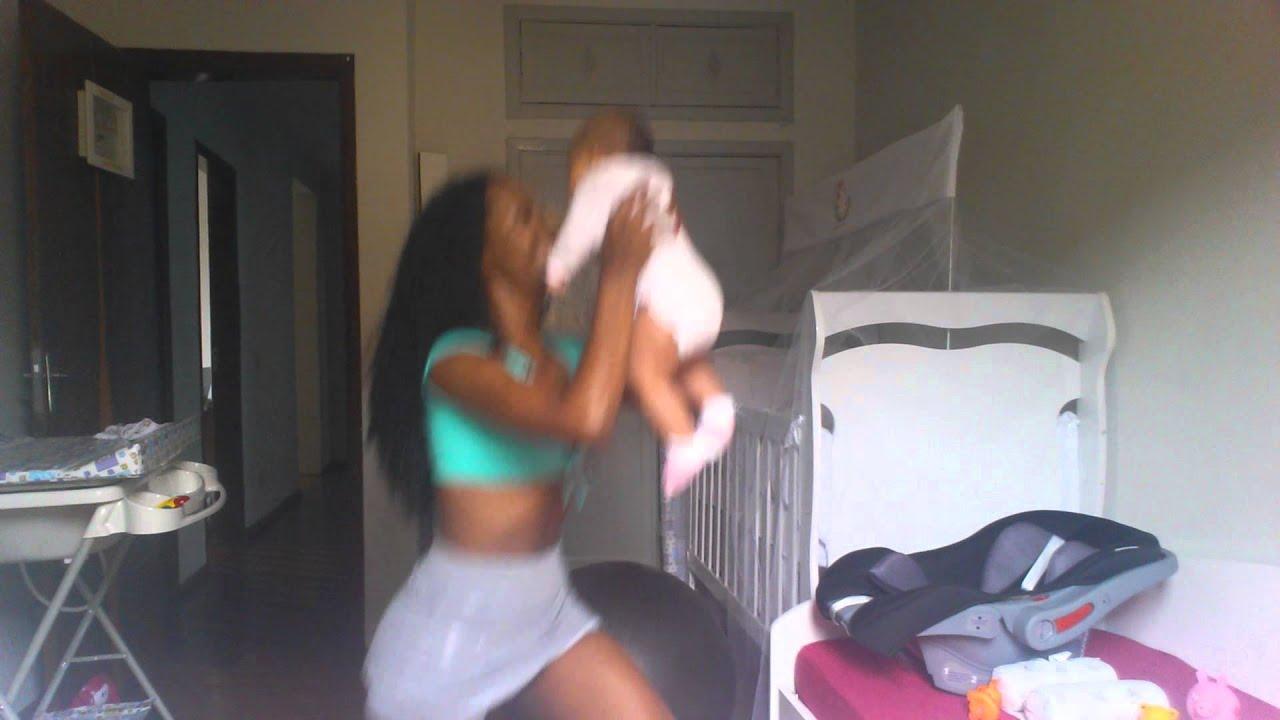 Ginástica com bebê