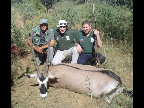 Hunting in Namibia, охота в Намибии, Group from Azerbaijan 2005