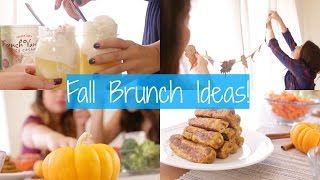 Diy Friendsgiving + Fall Brunch Ideas!