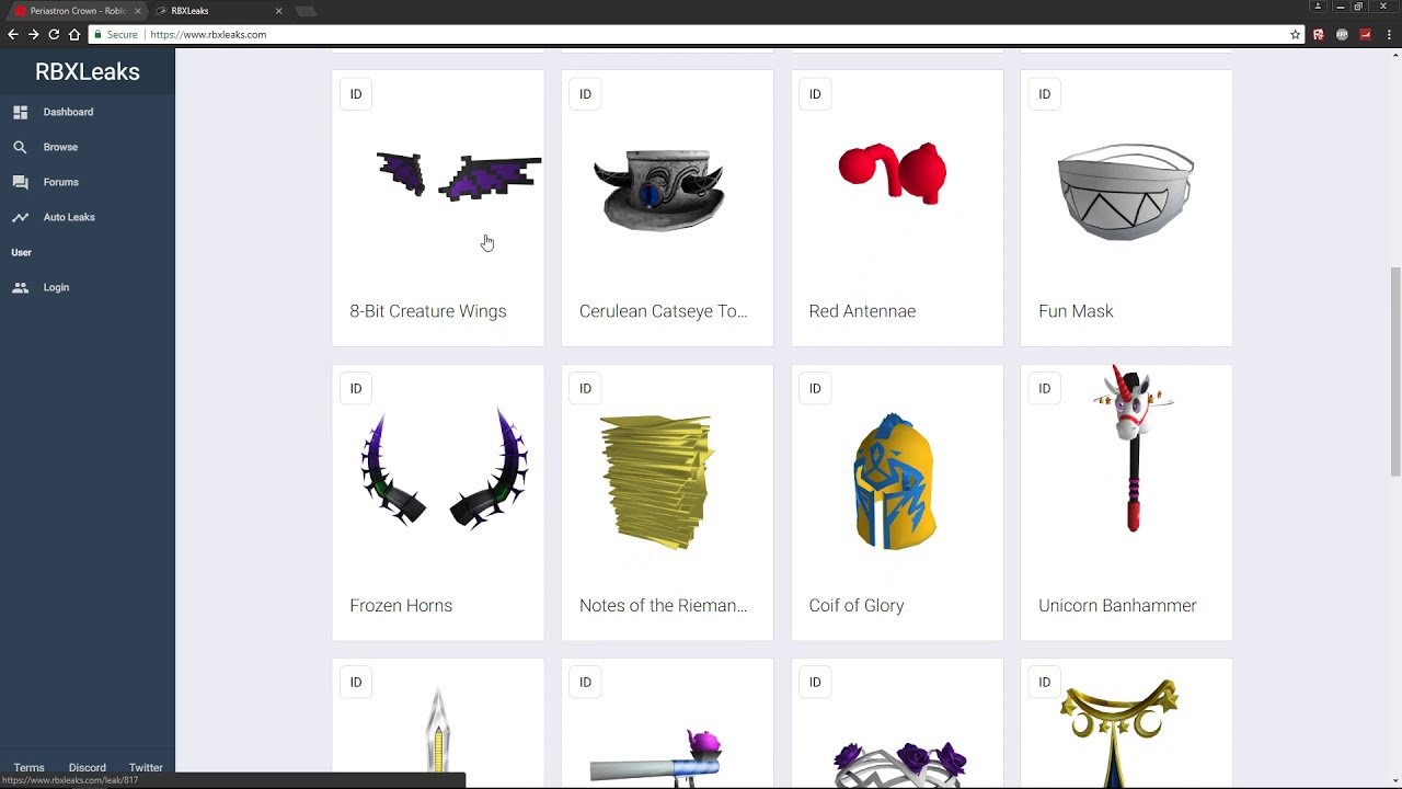 ROBLOX MEMORIAL DAY SALE 2018 LEAKS!! [DISCORD]