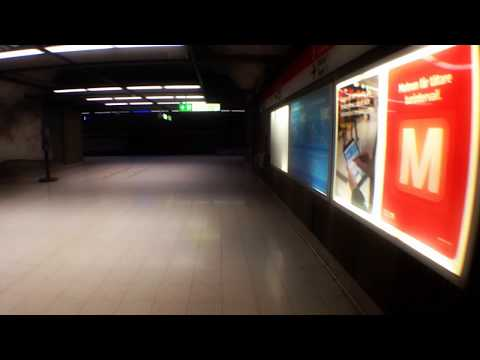 D minor chord at Helsinki Central metro station