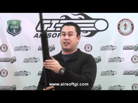 Airsoft GI - Echo 1 M28 Bolt Action Spring Sniper Rifle