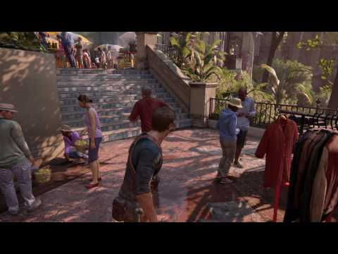 Uncharted 4: A Thief's End - Chapter 11: Madagascar Market: Merchant Selling Sully's Shirt Sequence