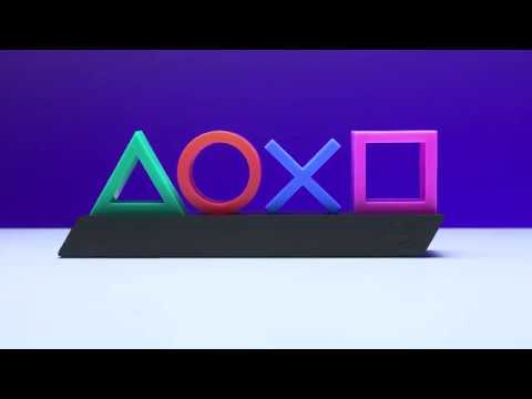Sony - PlayStation Icons Decorative Light - Video