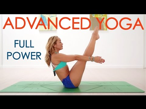 Advanced Yoga Week Four: Full Power, Intense Yoga Flow with Kino