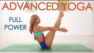 Advanced Yoga Week Four: Full Power, Intense Yoga Flow with Kino
