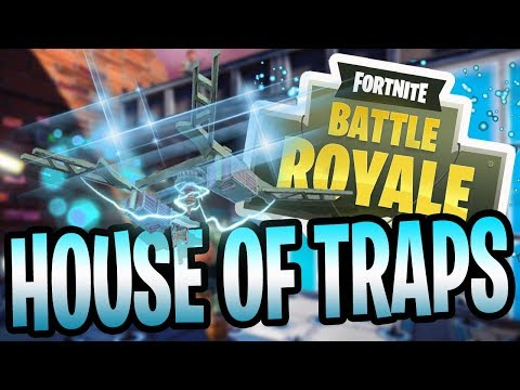 THE HOUSE OF TRAPS! (Fortnite Battle Royale)