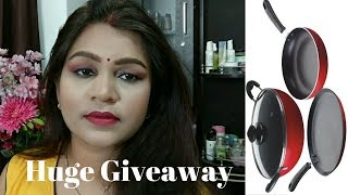 Prestige Cookware Giveaway | Cooking Shooking with Ankita | Giveaway | Indian Giveaway | Open