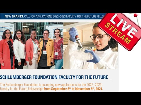 Schlumberger Foundation Faculty for Future Fellowship 2022/2023 for Women from Developing Countries
