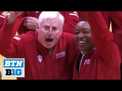 Bob Knight Returns To Assembly Hall | Indiana Hoosiers | B1G Basketball