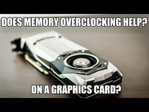 Does GPU Memory Speed  Matter? | Gaming Benchmarks |  GPU Memory Overclocking | GTX 1080