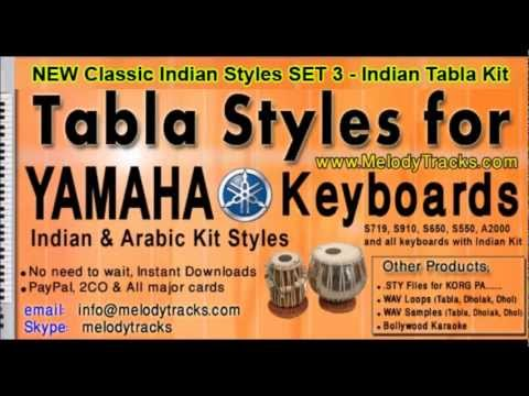 Latest Indian Styles For Yamaha Keyboard Free Download