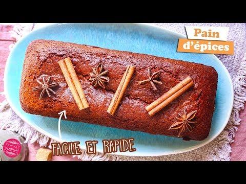 🍞-pain-d'Épices-facile-et-rapide-🍞