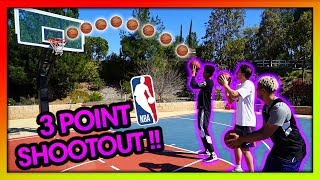 2HYPE NBA BASKETBALL 3 POINT TEAM CHALLENGE !!