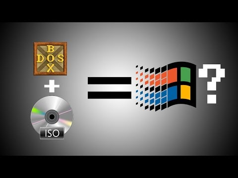 How To Run Windows 95 In DOS-BOX!
