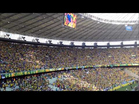 Confederations Cup 2013: Brazil national anthem