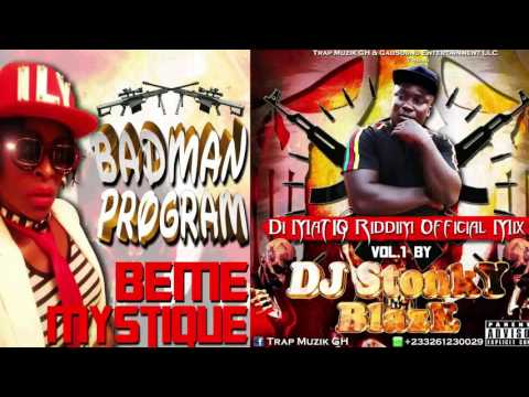 Di MaTIQ Riddim Official Mix Volume 1 By DJ STONKY BLAZE