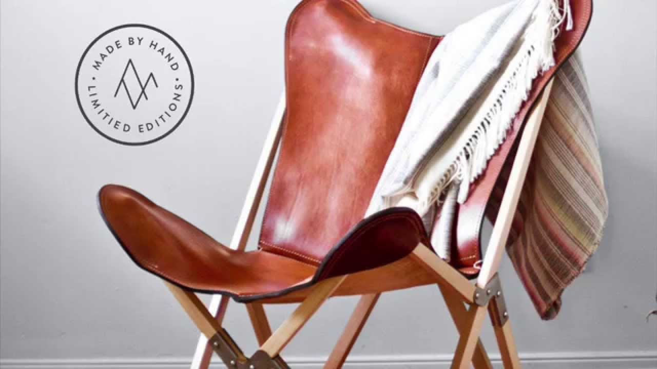 Argentinian Leather Tripolina Chair From The Citizenry