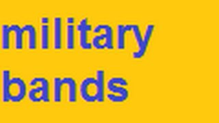 Neely Fuller- Military Bands Serve a Purpose