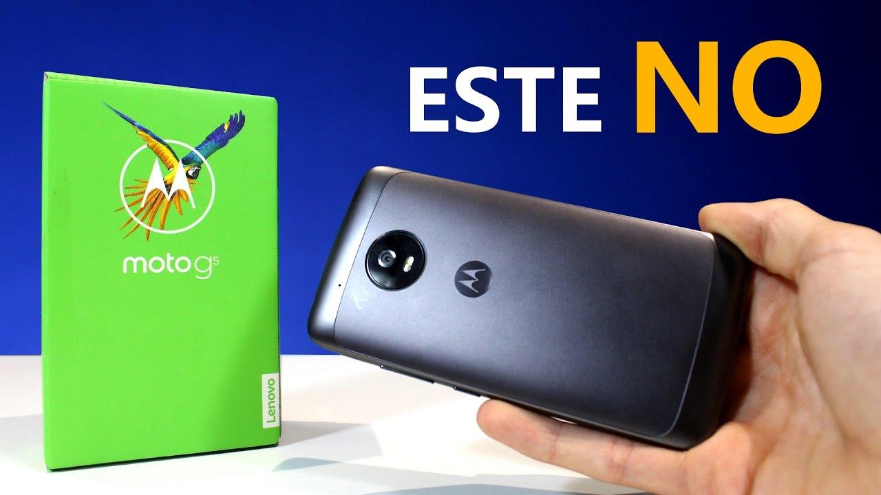 e12b92c2 Motorola Moto G5, review en español - CUIDADO! - YouTube