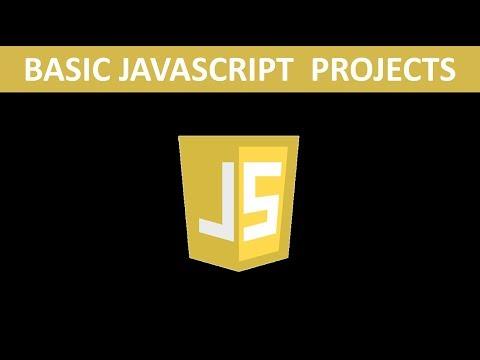 Basic Javascript Projects