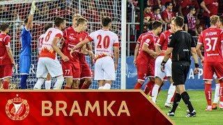 Widzew Łódź - Znicz Pruszków 1:1 - Bramka Marcina Bochenka