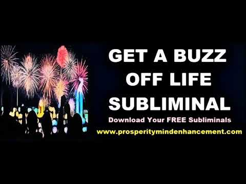 Live Life To The Fullest - Subliminal Life Buzz Affirmations Audio