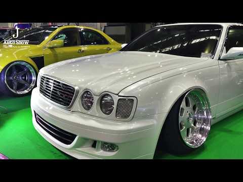 (4K)ガレージエクセレント Y33 セドリック カスタム NISSAN Y33 CEDRIC VIPSTYLE - 大阪オートメッセ2020