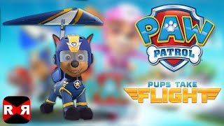 PAW Patrol Pups Take Flight - Chase in Rocky Canyon - iOS / Android - Gameplay Video