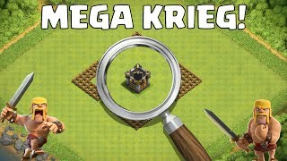 DER MEGA KRIEG MIT EUCH! || CLASH OF CLANS || Let's Play CoC [Deutsch German]