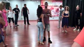 Zouk lambada Dance lesson basic steps