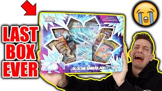 The *LAST EVER* Pokémon GX Box Opened.