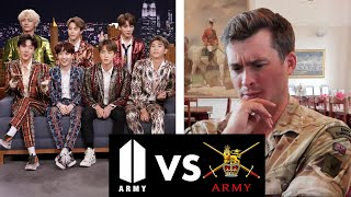 [8.86 MB] Real Army Major Reacts to BTS Army!!?