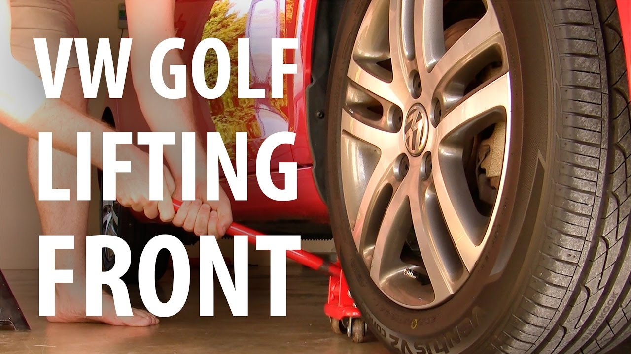 Simple How To Jacking Up A Vw Golf Youtube Front Suspension Diagram Free Engine Image For User