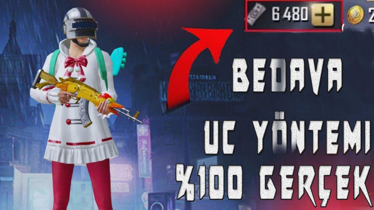 BEDAVA UC NASIL ALINIR TEK GERÇEK YÖNTEM PUBG Mobile 2019 Ücretsiz Free UC Pubg Mobile UC Hilesi