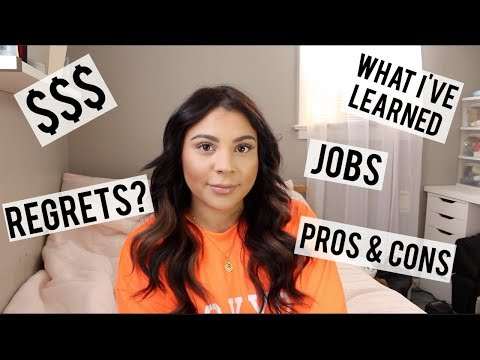 MY FIRST YEAR AS A HAIRSTYLIST | First Jobs, How Much Money I Make, Pros & Cons