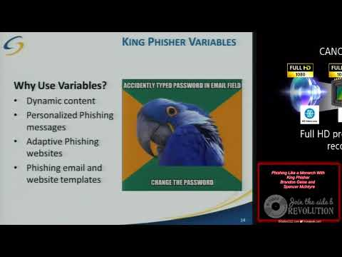 Phishing Like a Monarch With King Phisher Brandon Geise and
