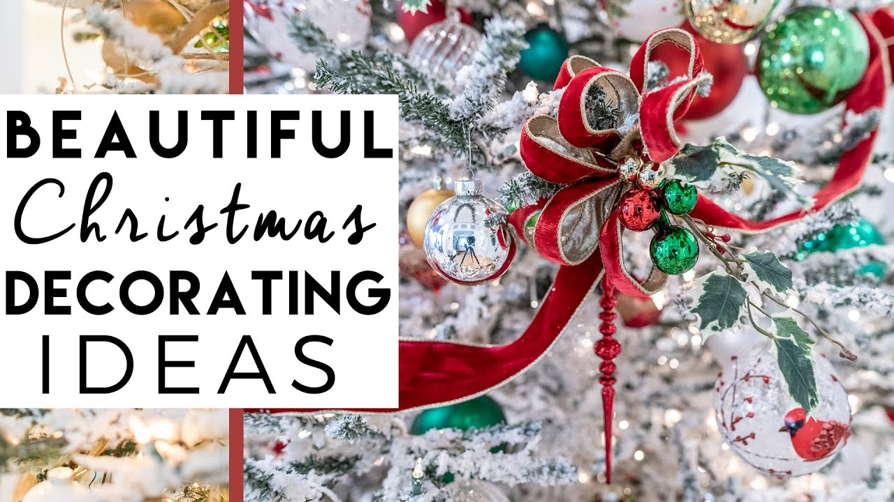 Christmas Decorations Christmas Decorating Ideas 1