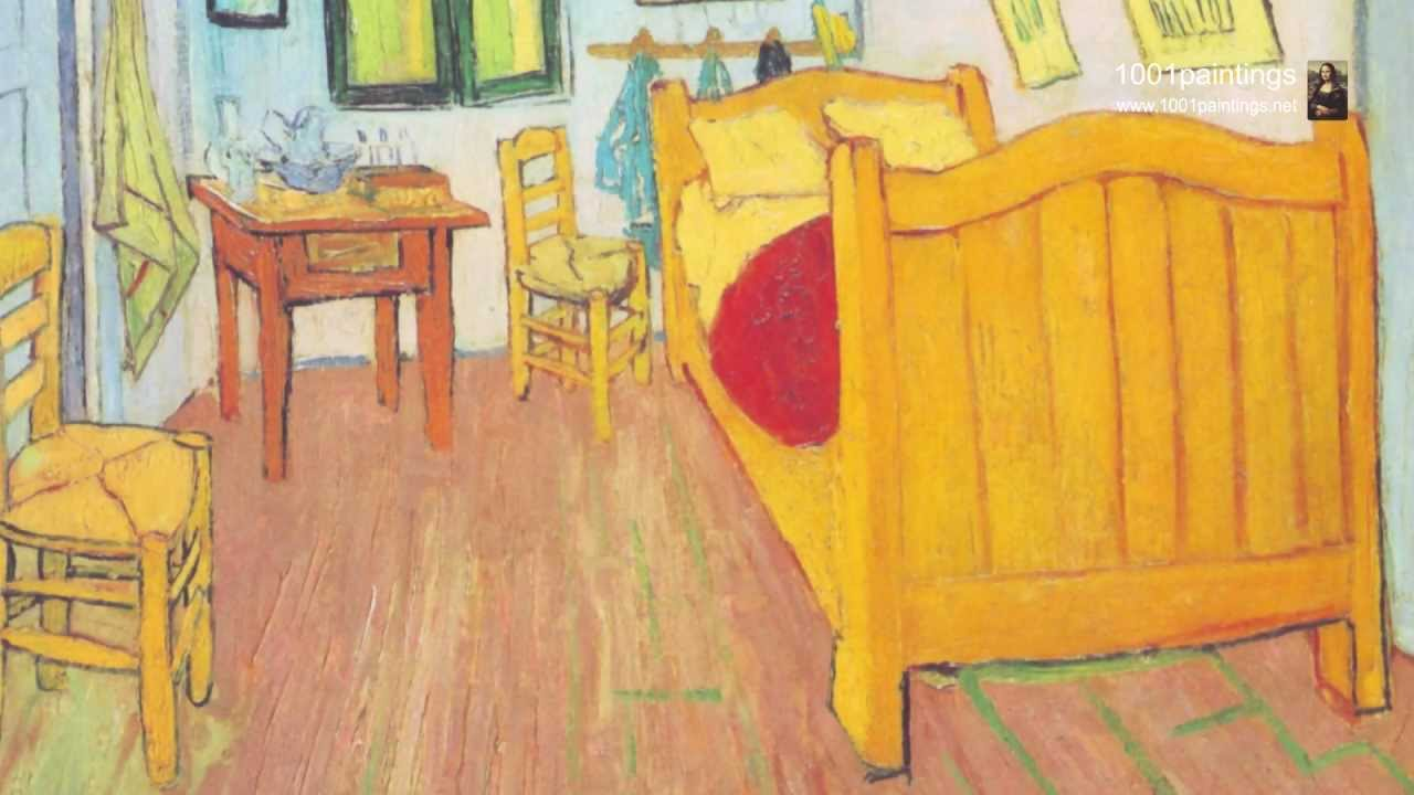 Bedroom in Arles by Vincent Van Gogh - YouTube