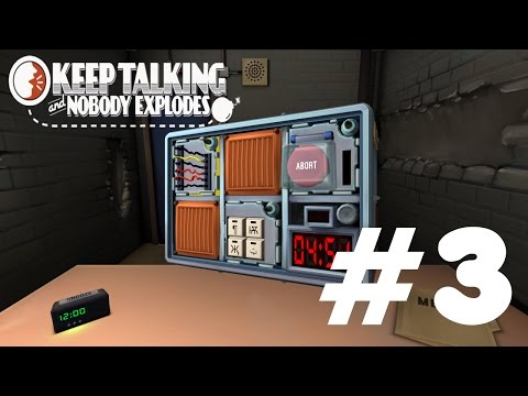 Stress levels are high | Keep talking and nobody explodes #3