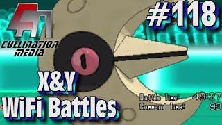 Pokemon X and Y WiFi Battle (LIVE) #118: Lunatone