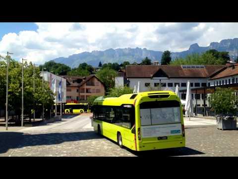 LIEmobil Liechtenstein Bus | Linie 13: Schaanwald - Nendeln (via Eschen) [Teilstrecke] | MAN LC DD