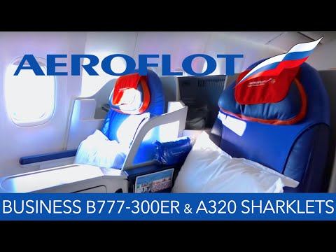 Aeroflot Business Class B777-300ER & A320 Sharklets FRA ✈ SVO ✈ HKG Multi Flight Report Review