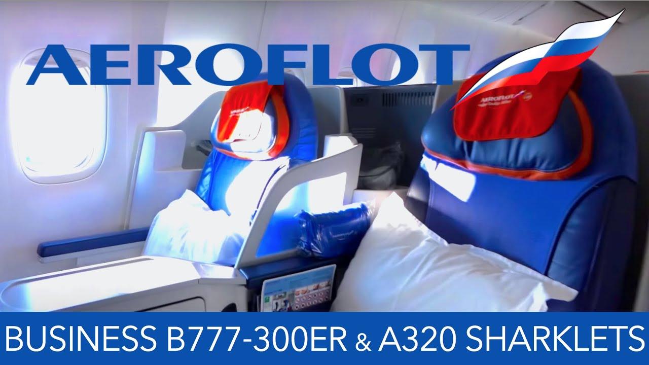 Aeroflot Business Class B777 300er Amp A320 Sharklets Fra
